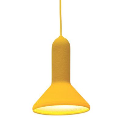 Torch Light Cône Pendelleuchte / klein - Ø 15 cm - Established & Sons - Gelb