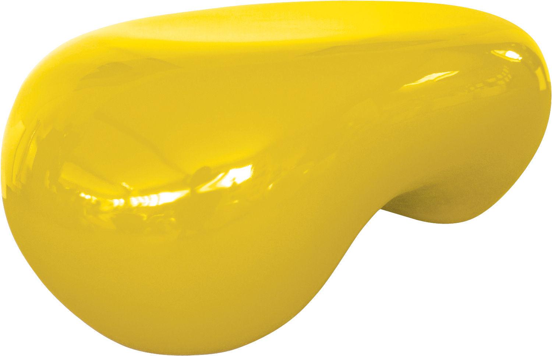 Table basse b a ba pour l 39 ext rieur jaune soleil for Table exterieur jaune
