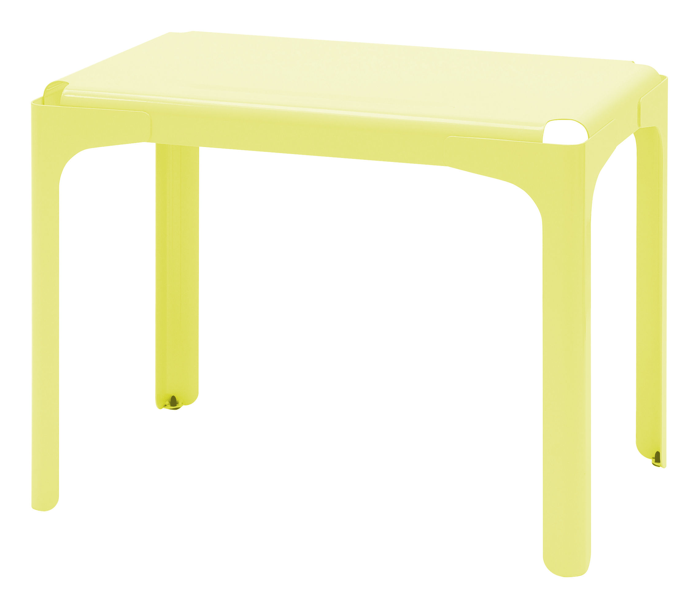 bureau enfant rhino jaune souffre tolix. Black Bedroom Furniture Sets. Home Design Ideas