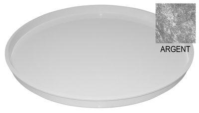 Plateau / Pour componibili 1 tiroir - Kartell argent en matière plastique