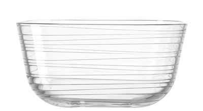 Coupe Struttura Gusto / Ø 20 x H 10 cm - Leonardo transparent en verre