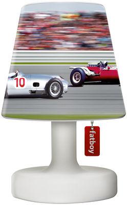 Luminaire - Lampes de table - Abat-jour Cooper Cappie / Pour lampe Edison the Petit - Fatboy - Car race / Voitures multicolores - Polypropylène