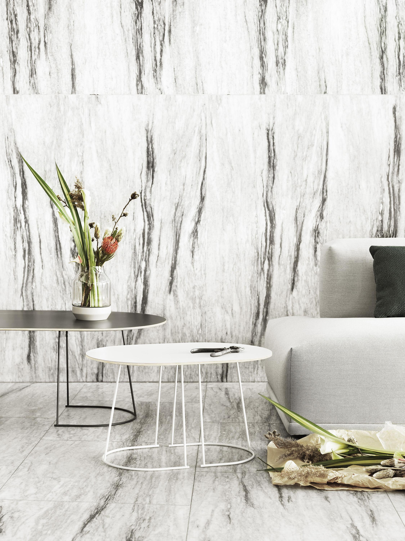 Airy Coffee table Medium 88 x 51 5 cm f white by Muuto