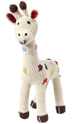 Déco - Pour les enfants - Peluche Girafe en crochet - Anne-Claire Petit - Nature - Coton