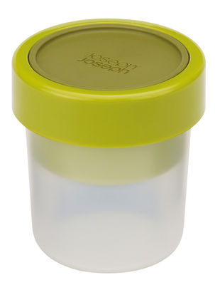Cuisine - Boîtes, pots et bocaux - Boîte hermétique GoEat / En-cas - Set de 2 boîtes empilables - Joseph Joseph - Vert - Polypropylène, Silicone