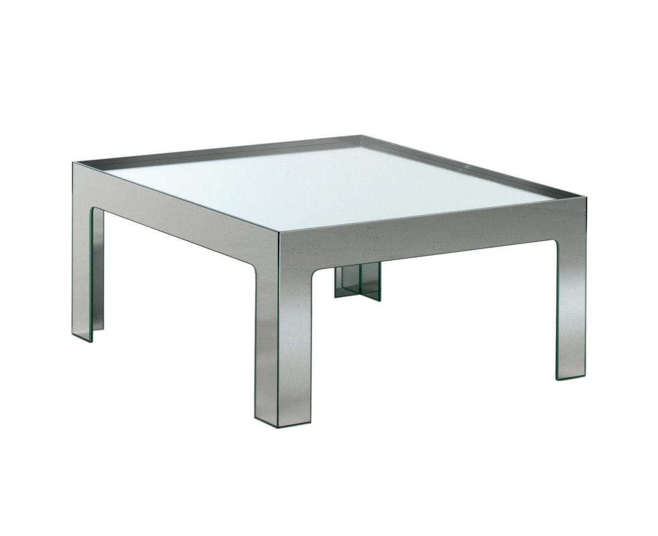 mirror mirror coffee table 70 x 70 cm mirror by glas italia