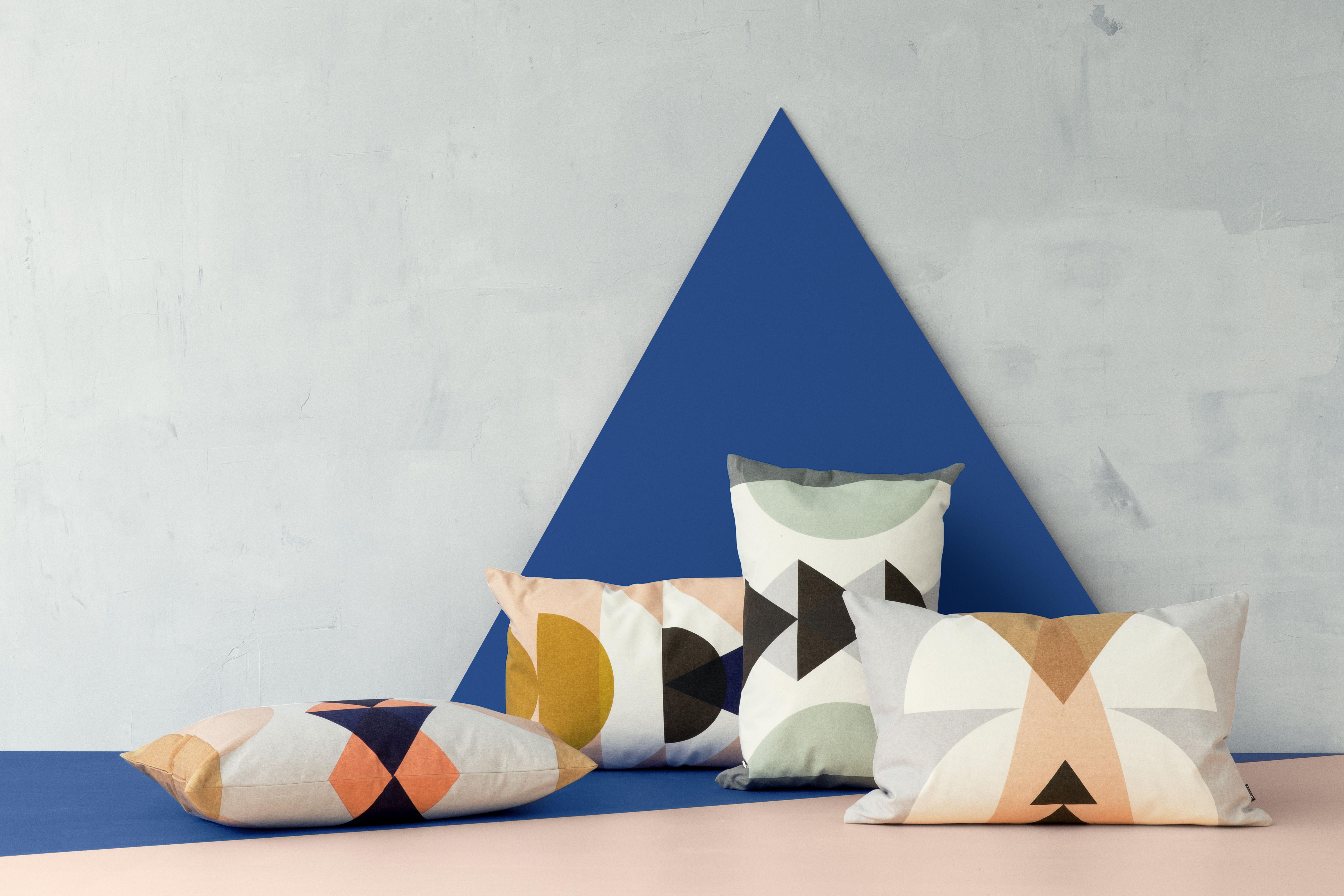 coussin maya 60 x 40 cm vert menthe ferm living. Black Bedroom Furniture Sets. Home Design Ideas