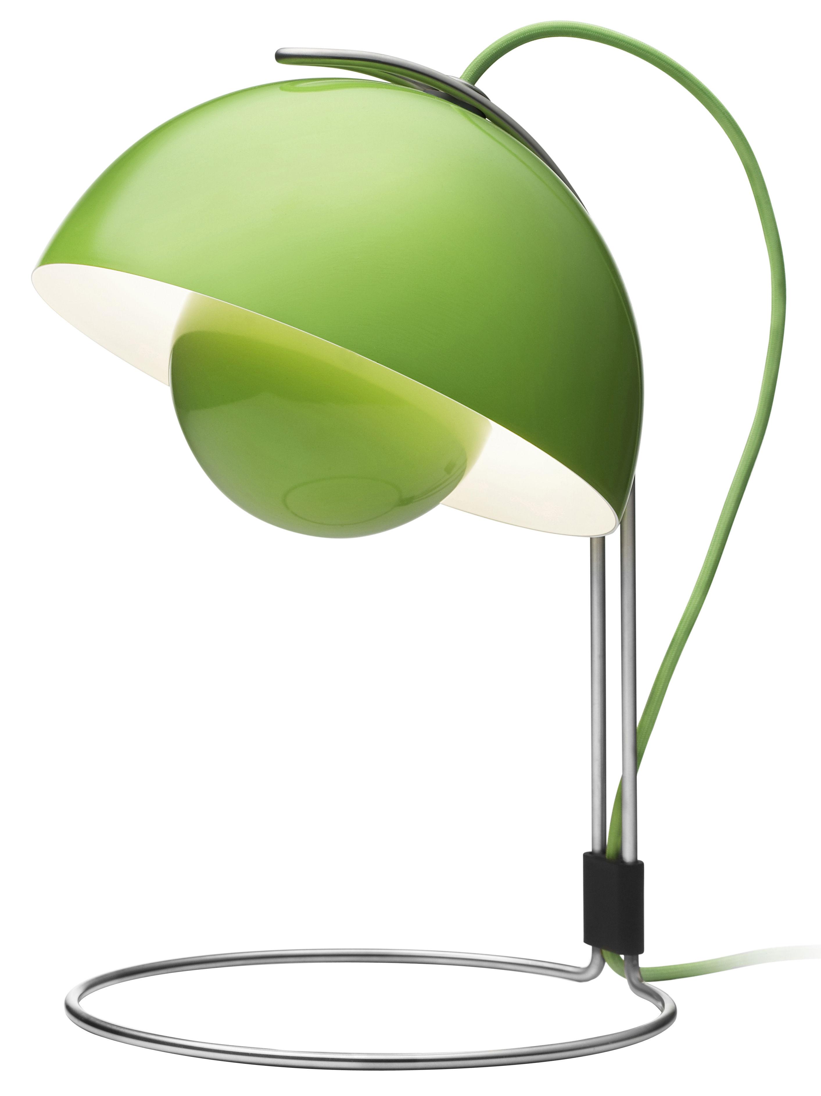Flowerpot vp4 lampada da tavolo verde by tradition made - Lampada verde da tavolo ...