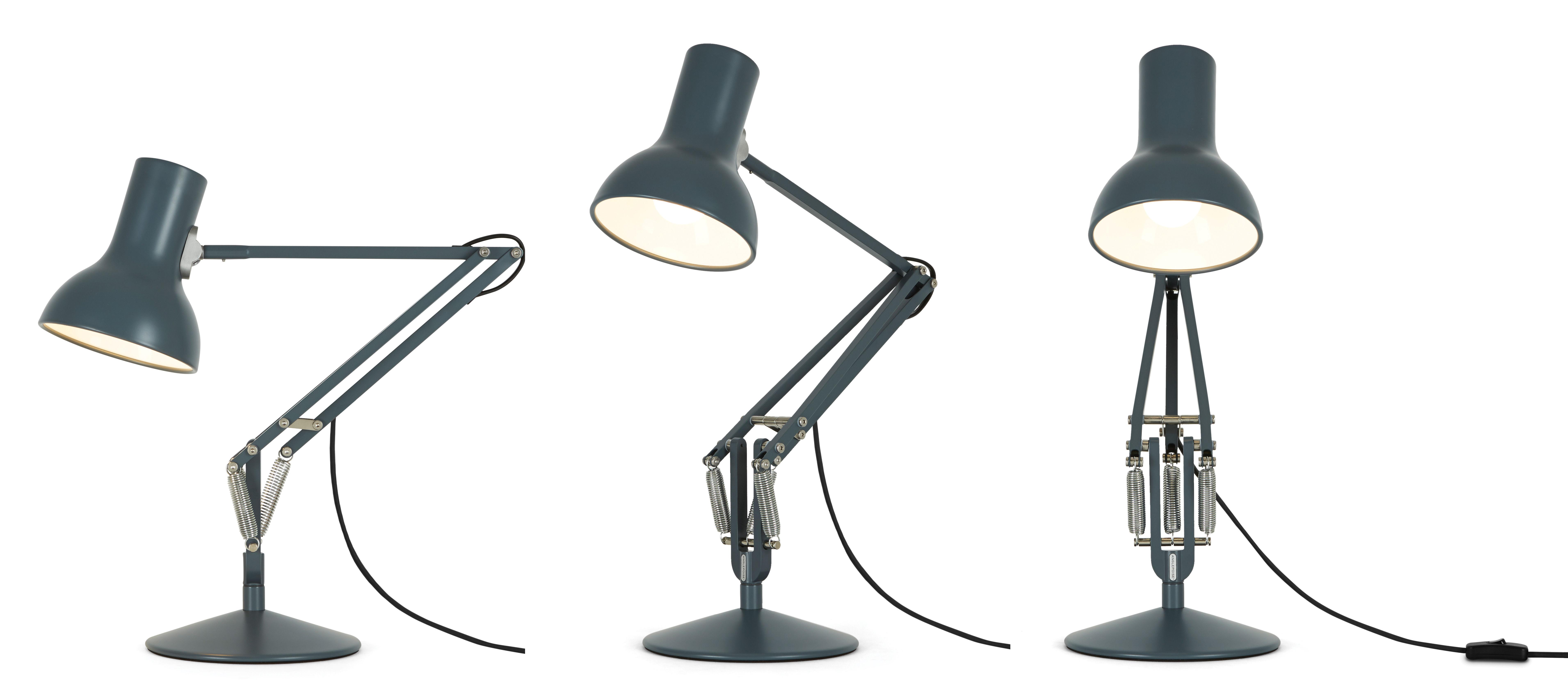 Lampe de table type 75 mini h 50 cm gris anglepoise - Luminaire industriel la giant collection par anglepoise ...