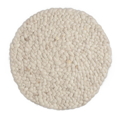 tapis roundabout 250 cm 250 cm blanc cass pols potten. Black Bedroom Furniture Sets. Home Design Ideas