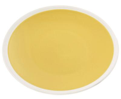 Assiette Sicilia / Ø 26 cm - Maison Sarah Lavoine blanc,tournesol en céramique