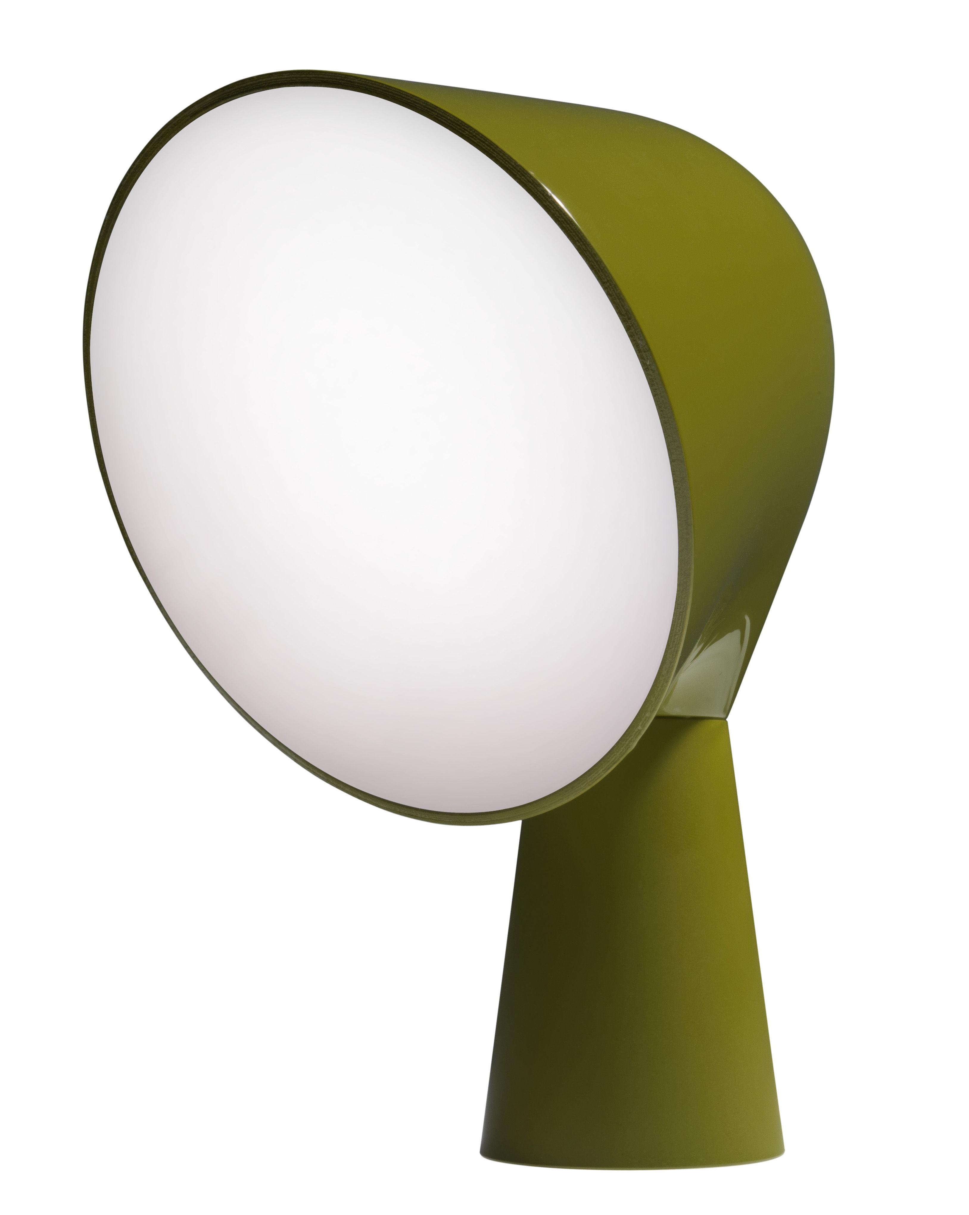 Scopri lampada da tavolo binic verde di foscarini made - Lampada verde da tavolo ...