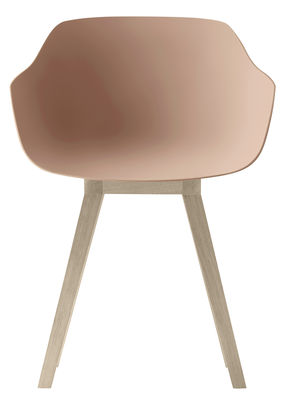 kuskoa bi sessel bio kunststoff stuhlbeine aus holz koralle stuhlbeine eiche by alki. Black Bedroom Furniture Sets. Home Design Ideas
