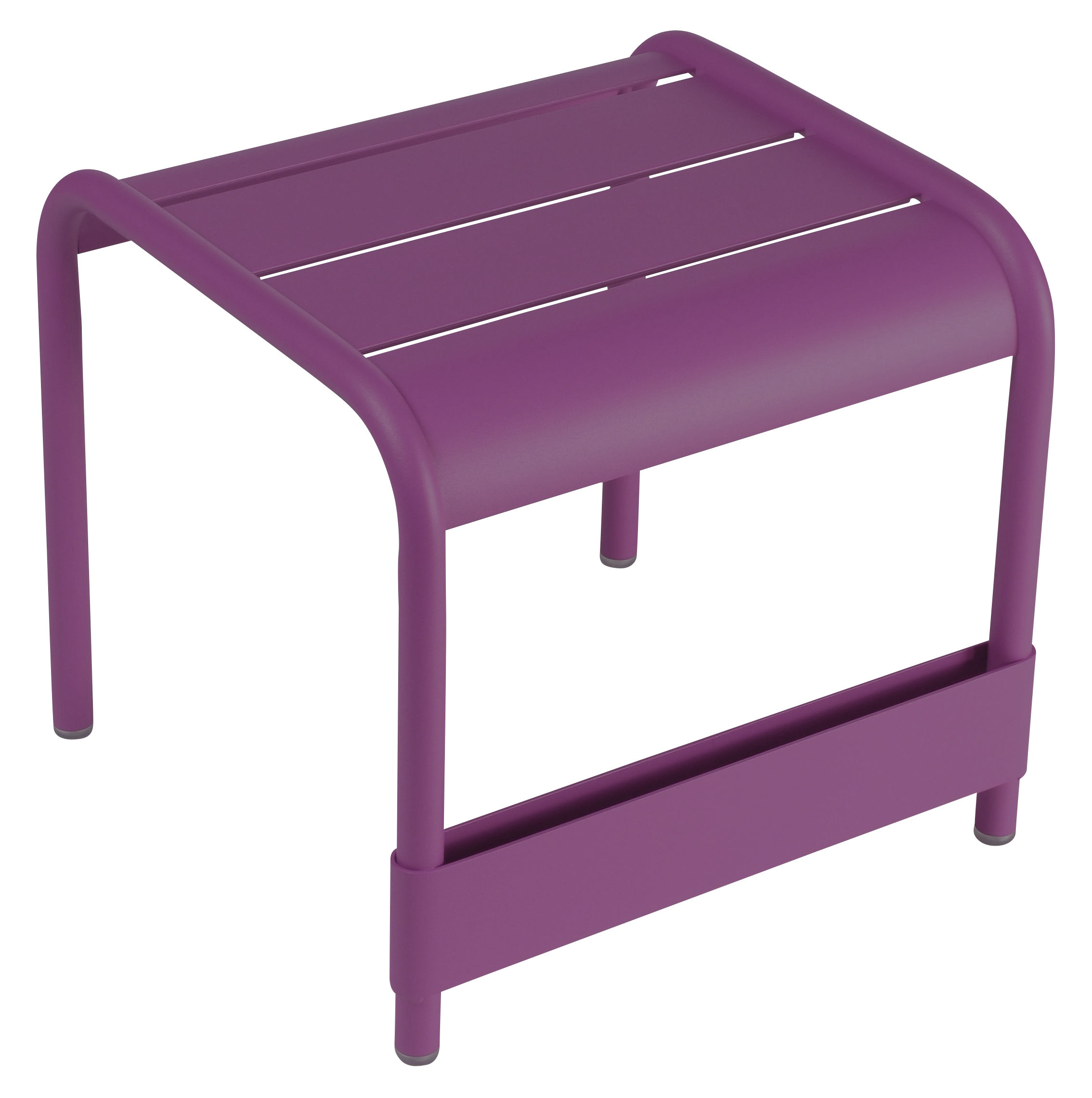Luxembourg end table l 42 cm aubergine by fermob for Fermob luxembourg table