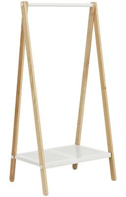 Portant Toj petit modèle - Normann Copenhagen blanc en bois