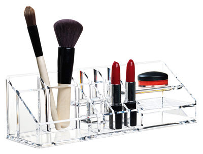 bo te maquillage clear organisateur de bureau. Black Bedroom Furniture Sets. Home Design Ideas