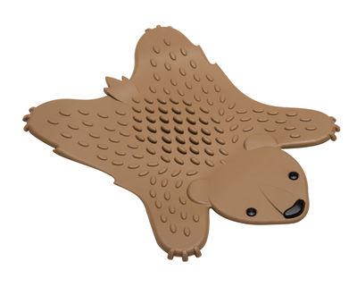 Dessous de plat Grizzly / Silicone - Pa Design marron en matière plastique