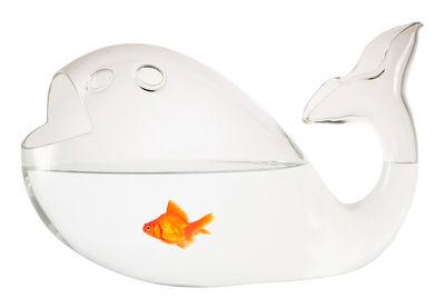 Dekoration - Spaßig und ausgefallen - Giona Medium Aquarium L 27 cm - Skitsch - Transparent - L 27 cm - geblasenes Glas