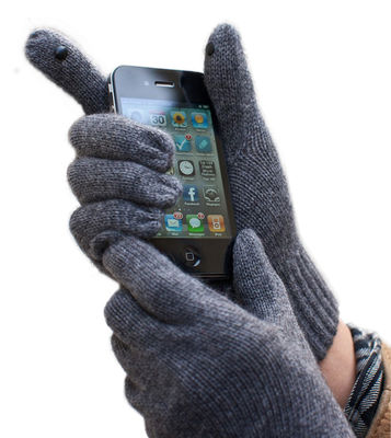 Accessories - High Tech Accessories - Glove Tip Chip - / Set of 2 glove tips for touch sensitive screen by Glove Tip - Black - Plastic material