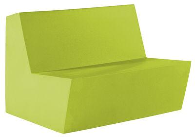 Foto Divano bimbi Minus Primary Duo - 2 posti di Quinze & Milan - Verde limone - Materiale plastico