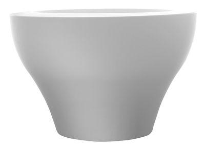 Pot de fleurs Ming extra large - Serralunga blanc en matière plastique