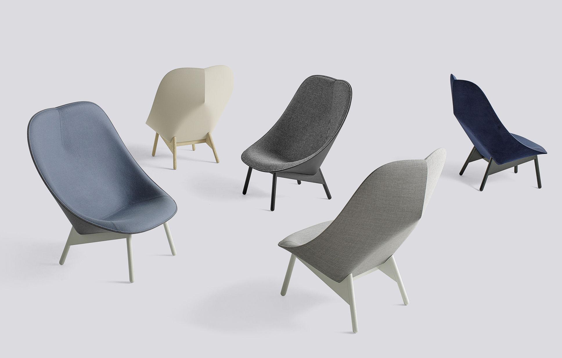 uchiwa hay gepolsterter sessel. Black Bedroom Furniture Sets. Home Design Ideas