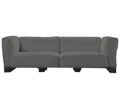 Pop Duo Sofa Gestell schwarz - Kartell - Grau