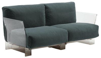 Pop Outdoor Sofa 2-Sitzer - Kartell - Grau
