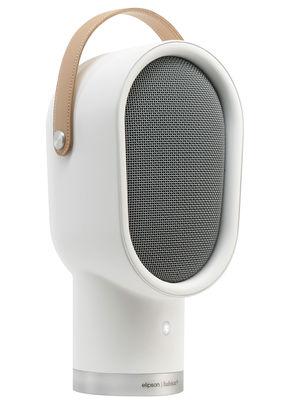 Enceinte Bluetooth Lenny Portable sans fil Elipson blanc en métal