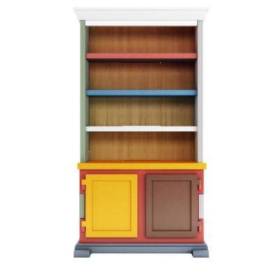 Mobilier - Meubles de rangement - Vaisselier Paper Patchwork - Moooi - Multicolore - Bois, Carton, Papier