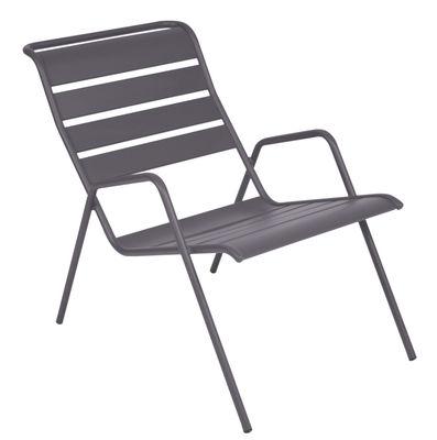 Monceau Lounge Sessel / stapelbar - Fermob - Pflaume