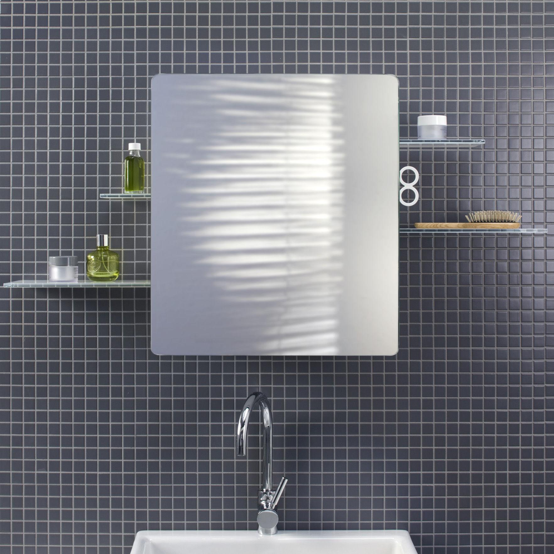 Kali Bathroom cabinet - Mirror cabinet White by Authentics