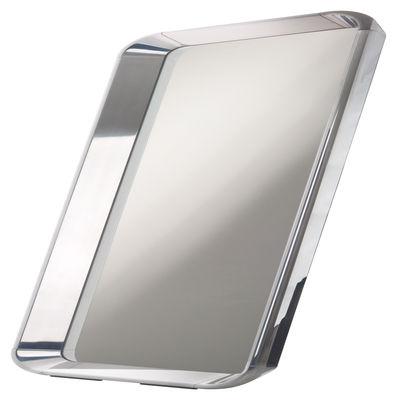 Foto Specchio Déjà-vu - 105 x 105 cm di Magis - Metallo lucidato - Metallo