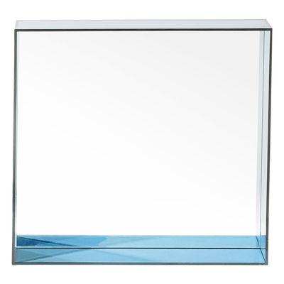 Foto Specchio Only me - / L 50 x H 50 cm di Kartell - Blu - Materiale plastico