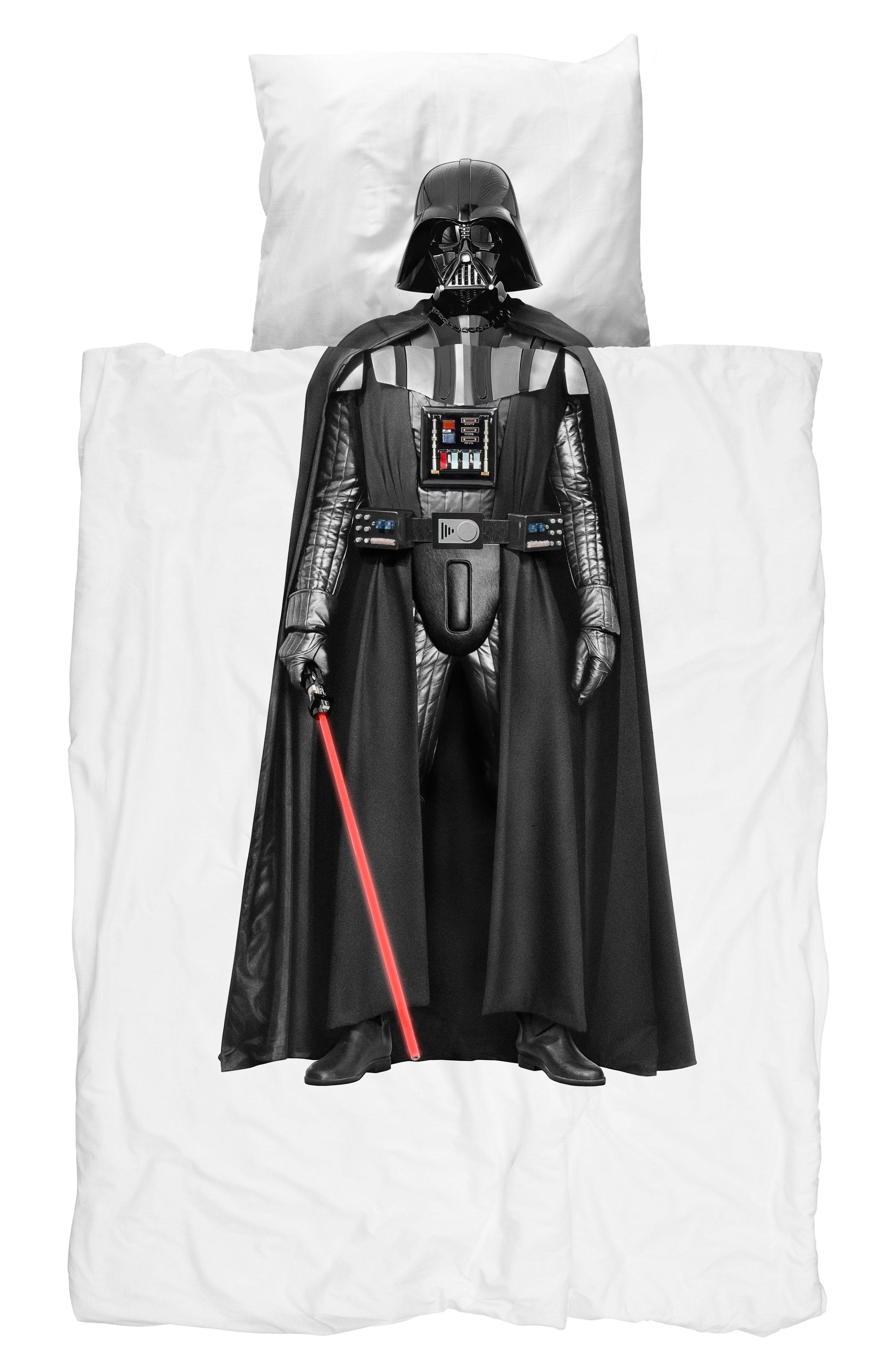 parure de lit 1 personne star wars dark vador 140 x 200 cm edition limit e dark vador snurk. Black Bedroom Furniture Sets. Home Design Ideas