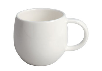 Arts de la table - Tasses et mugs - Tasse à moka All-time - A di Alessi - Tasse à moka - Blanc - Porcelaine Bone China