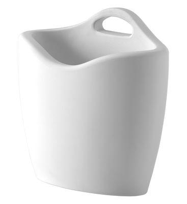 Porte-revues Mag - Slide blanc en matière plastique