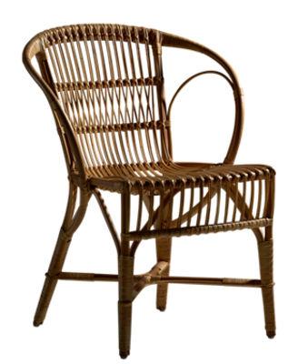 Chaise Wengler / Réédition 1902 - Sika Design antique en rotin & fibres