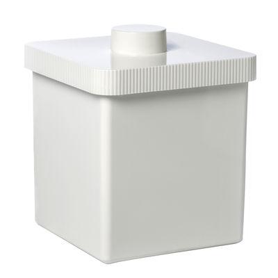 Poubelle Kali 10 Litres - Authentics blanc en matière plastique