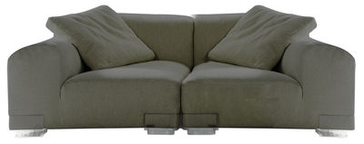 Plastics Duo Sofa Komposition Nr. 1 - Kartell - Grau