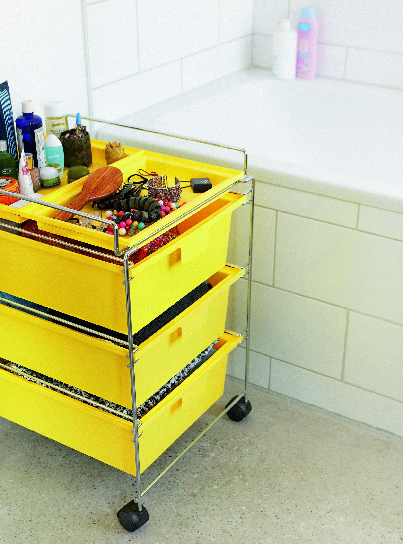 Scopri carrello tavolo d 39 appoggio go nero di authentics for Nuovi piani domestici