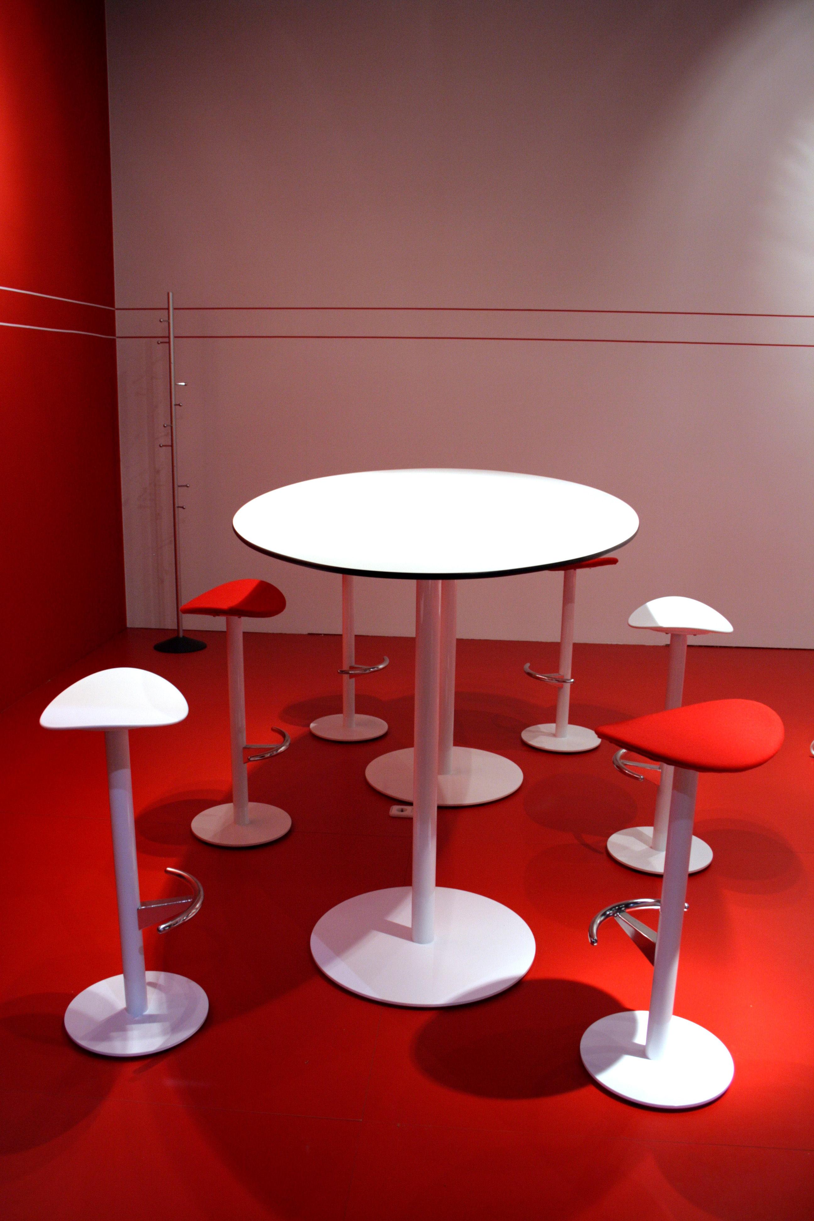 Table punto 80 cm blanc enea for Table design 80 cm