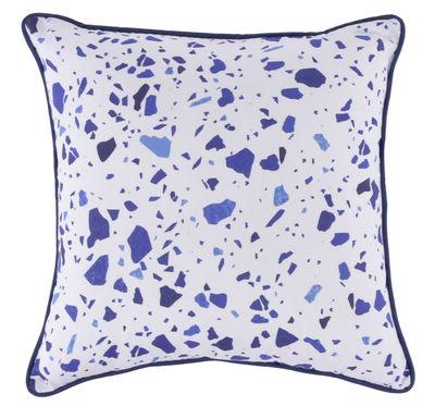 Coussin My Terrazza / 45 x 45 cm - ENOstudio blanc,bleu en tissu