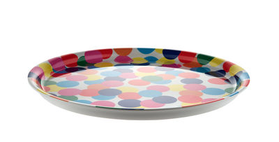 Tischkultur - Tabletts - Proust Tablett - Alessi - Proust / mehrfarbig - Melamin
