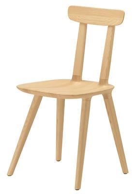 Mobilier - Chaises, fauteuils de salle à manger - Chaise Tabu Backrest Wood - Alias - Frêne - Frêne massif