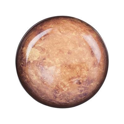 Assiette Cosmic Diner Mars Ø 23,5 cm Diesel living with Seletti marron,noir,beige en céramique
