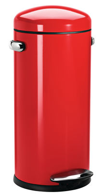 Kitchenware - Bins - Retro Pedal bin - / 30 Liters by Simple Human - Red - Steel