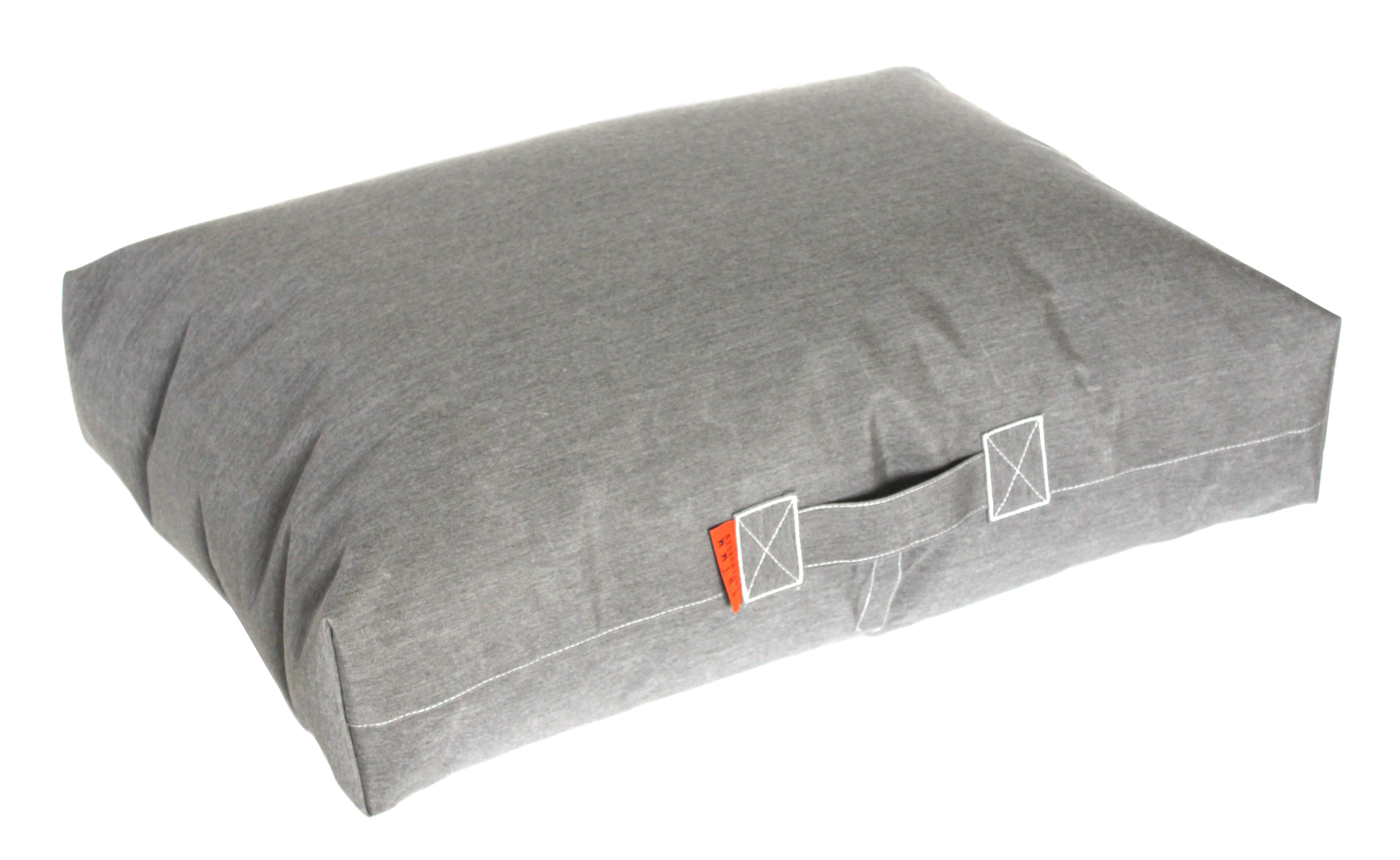 coussin de sol felix 80 x 56 cm gris trimm copenhagen. Black Bedroom Furniture Sets. Home Design Ideas