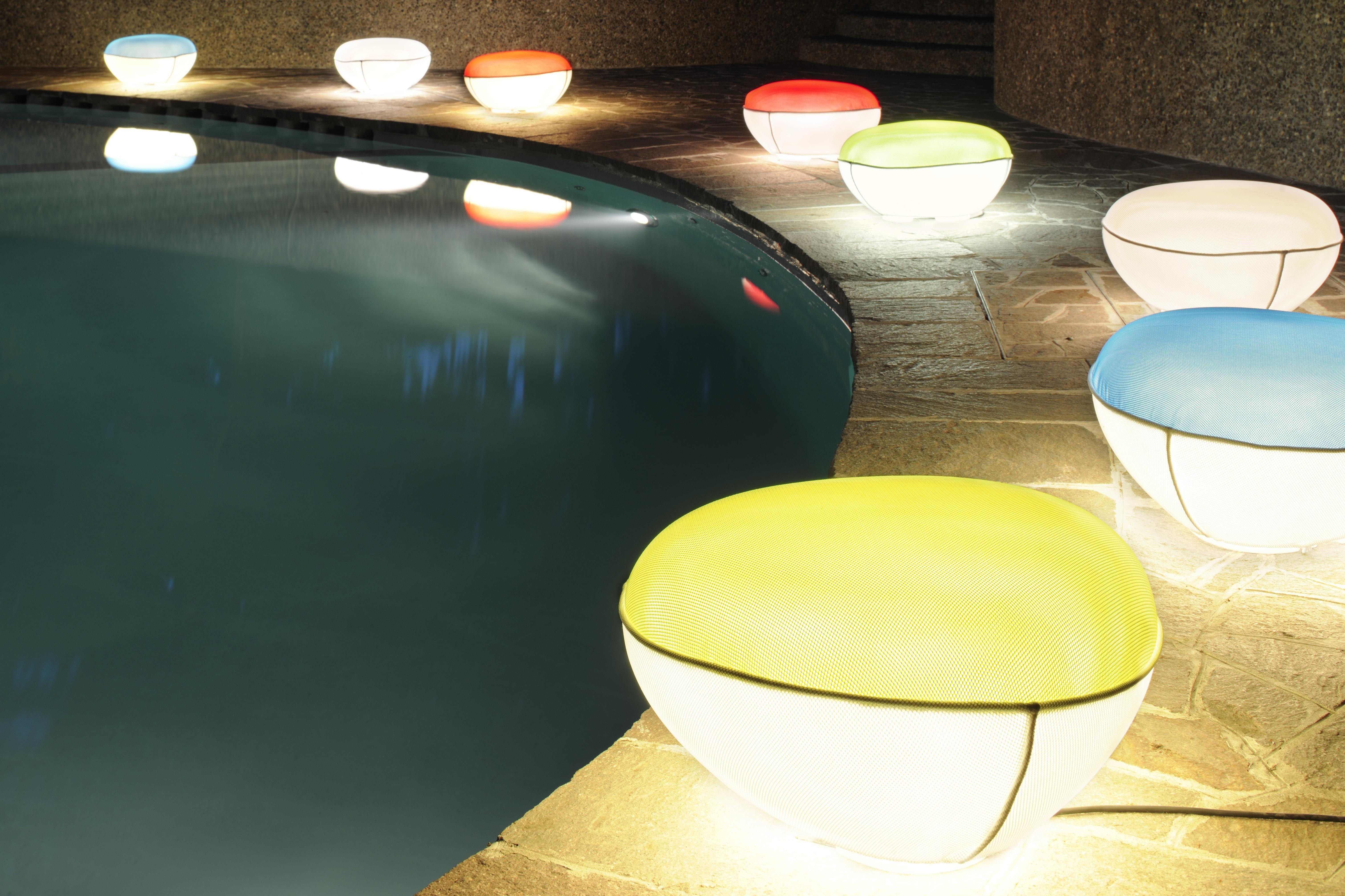 Pill low lampada da pavimento pouf interno esterno - Ikea illuminazione esterno ...