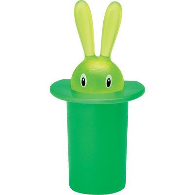 Déco - Objets déco et cadres-photos - Magnet Magic Bunny - A di Alessi - Vert - Résine thermoplastique